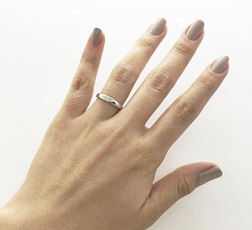 anillo solitario de matrimonio