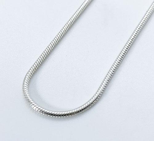 cadena de plata mujer