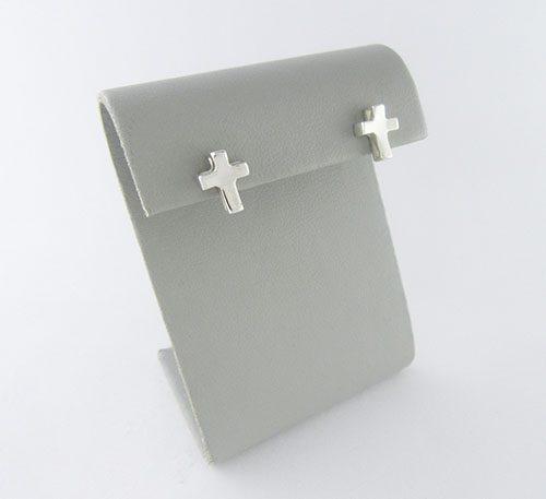 Aretes de plata.
